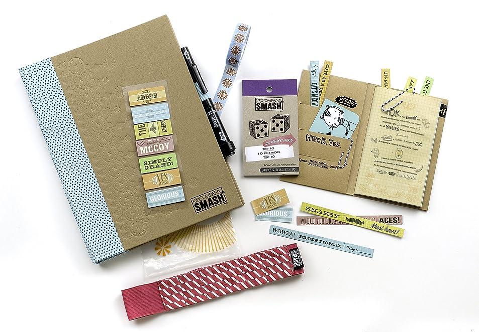 K&CompanySmash Scrapbook Folio Gift Pack, Blue xeudmiiq4338