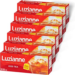 Best Luzianne Family Size Iced Tea Bags 24 ct. Box (Pack of 6) (PP-GRCE31592) Reviews