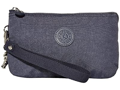 Kipling Creativity XL Pouch (Navy Blue Galaxy Twist) Clutch Handbags