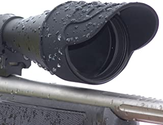 Silicone Rubber Rifle Scope Binocular Cover, Sunshade, Rain Cap, Eye Piece, Objective Lens, Spotting Optics, Tactical Flip Up Protector, 40mm 44mm 50mm 56mm 69mm, Sold Individually