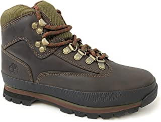 Women's Euro Hiker Brown Leather Boots