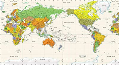 Best detailed map of north and south america Reviews