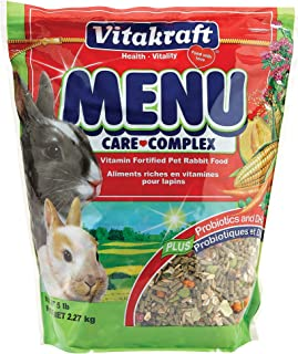 Vitakraft Menu Vitamin Fortified Pet Rabbit Food, 5 Lb.