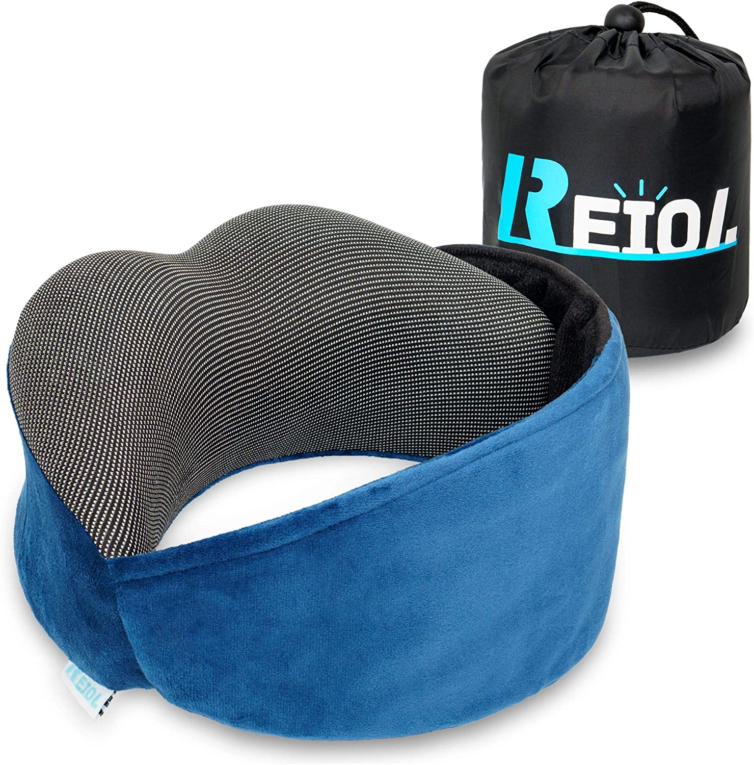 REIOL Travel Pillow 100% Pure Memory 4 Discount is also Baltimore Mall underway Head Foam- Ways for Neck