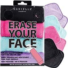 پارچه 4 تیکه پاک کننده آرایش  آرایش صورت خود را با دانیل انترپرایس پاک پاک کنید