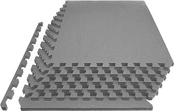 """Prosource Extra dikke puzzel oefenmat 3/4 """"of 1"""", EVA-schuim in elkaar grijpende tegels voor beschermende, gewatteerde wor..."""