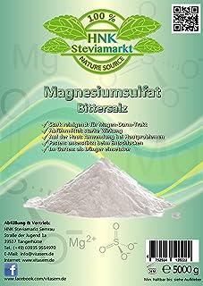 Sal amarga sulfato de magnesio 5 kg – ayuda natural al ayuno y a la cicatrización – Abführmittel – Limpieza del hígado