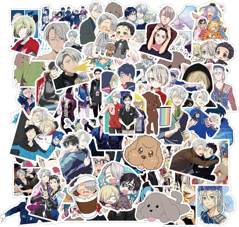 Anime Stickers QINXIANG 100pcs New sales Elegant Waterproo Japanese