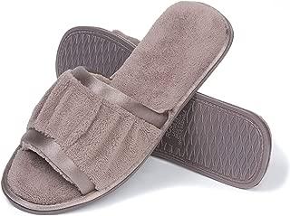 Roxoni Women's Open Toe Terry House Slide Slipper