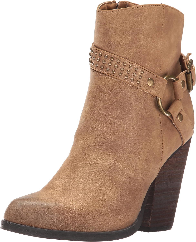 Very Volatile Womens Ashanti Ankle Bootie