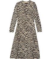 Zebra Mesh Dress (Big Kids)