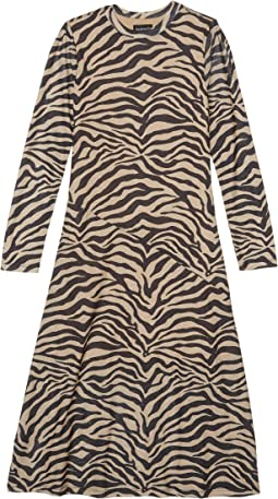 Nude Zebra Print