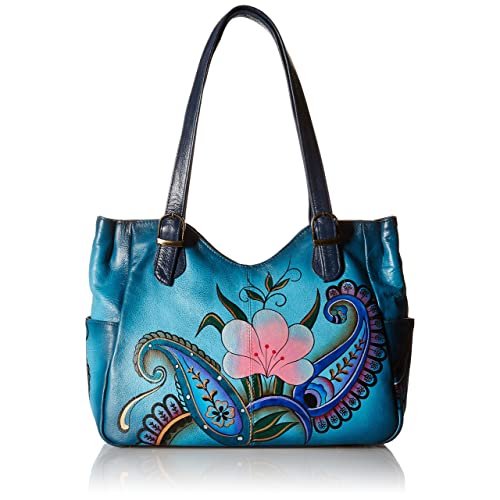 Anna by Anuschka Women s Genuine Leather Shoulder Bag   Hand-Painted  Original Artwork f6c59923e5