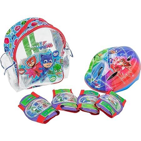 PJ Masks Set con Mochila, Casco y Protecciones (Amijoc Toys 2938)