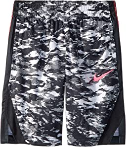 Nike Kids - Dry Elite Printed Basketball Short (Little Kids/Big Kids)