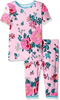 Girls' Big 2 Piece Cotton Modal Pajama Set