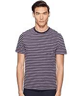 Jack Spade - Short Sleeve Striped Tee