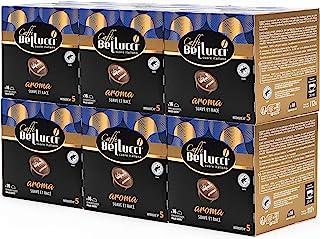 BELLUCCI Caffè Café Aroma 6 Boîtes de 16 Capsules Compatibles Dolce Gusto Suave/Racé Moka 96 Unités
