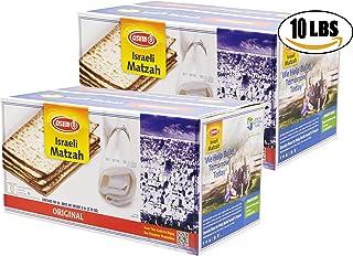 Matzah Osem Israeli Passover Matzah (10-Pounds)