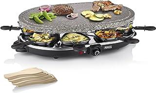 Raclette Princess 162720 8 personnes Pierre à cuire 1200 Watts