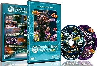 Aquarium DVD -2 DVD SET Tropical Reef Aquarium XXL Box - With Natural Sound and Relaxing Music
