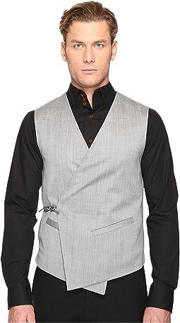 Tied Wool Waistcoat
