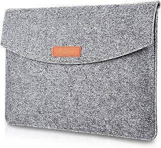 ProCase 13 13.5インチ ラップトップスリーブ スリーブバッグ インナーケース MacBook Pro 13 / 13インチ MacBook Pro Retina/MacBook Air, 13.5インチ Surface Book / 13.5インチ Surface Laptop / 12.9 インチ iPad Pro対応 -グレー
