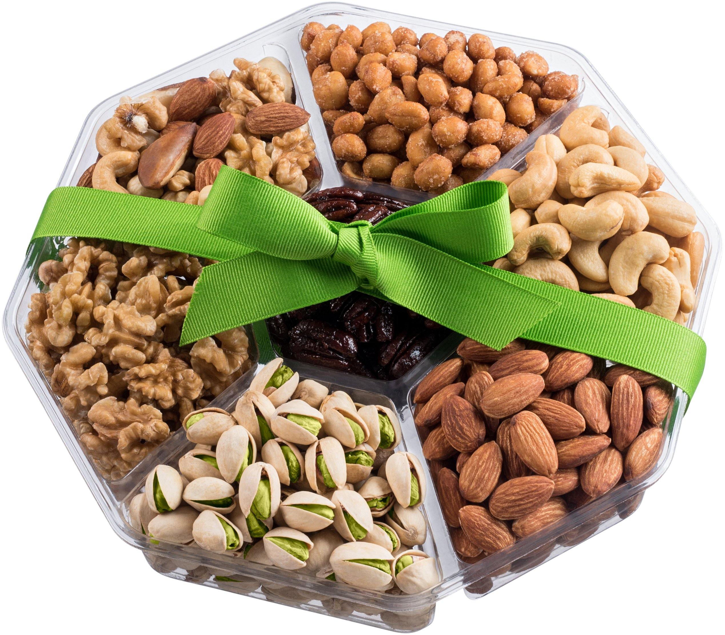 Nut Cravings Holiday Gourmet Nuts Gift Baskets | Large 7-Sectional Delicious Variety Mixed Nuts  sc 1 st  Amazon.com & Gift Baskets for Him: Amazon.com