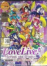 LOVE LIVE ! SCHOOL IDOL PROJECT (SEASON 1+2) - COMPLETE TV SERIES DVD BOX SET ( 1-26 EPISODES)