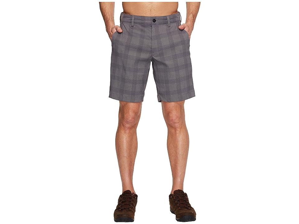 The North Face Rockaway Shorts (Zinc Grey Plaid (Prior Season)) Men