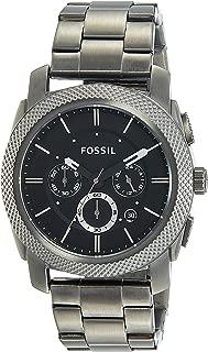 Fossil Men's FS4662 Machine Chronograph Stainless Steel Watch - Smoke
