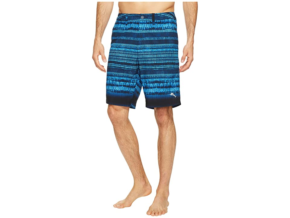Tommy Bahama Cayman Tripoli Tie-Dye Swim Trunk (Ocean Deep) Men