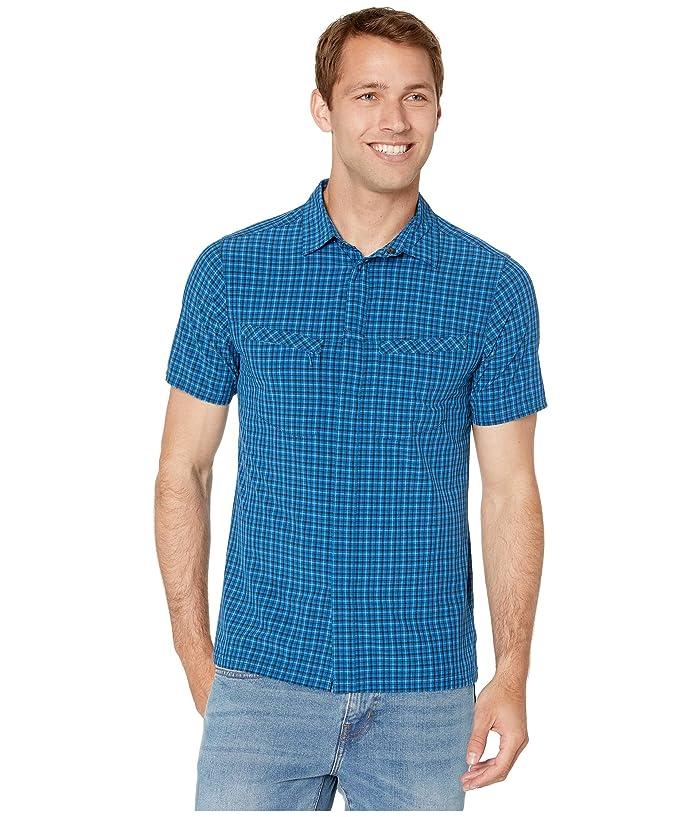 Royal Robbins City Traveler Short Sleeve Shirt (Oceania) Men