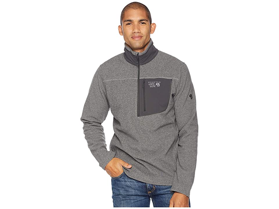 Mountain Hardwear Toasty Twill Fleece 1/2 Zip (Manta Grey) Men
