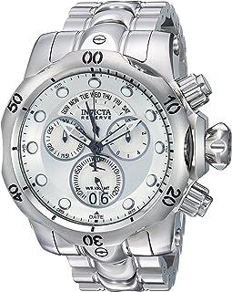 [インビクタ]Invicta 腕時計 Venom メンズ 石英 53.7mm ケース シルバー ステンレス鋼ストラップ シルバーダイヤル 1537 メンズ 【正規輸入品】