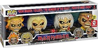 Funko POP! Rocks: Iron Maiden - Eddie - Juego de 4 cajas que brillan en la oscuridad (exclusivo Alliance Entertainment)