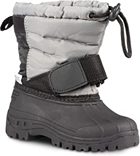770db2e2bd04 ZOOGS Kids Snow Boots for Girls and Boys  Youth and Toddler Snow Boots