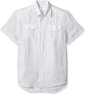 Billy Reid Men's Standard Fit Short Sleeve Button Down Graham Shirt