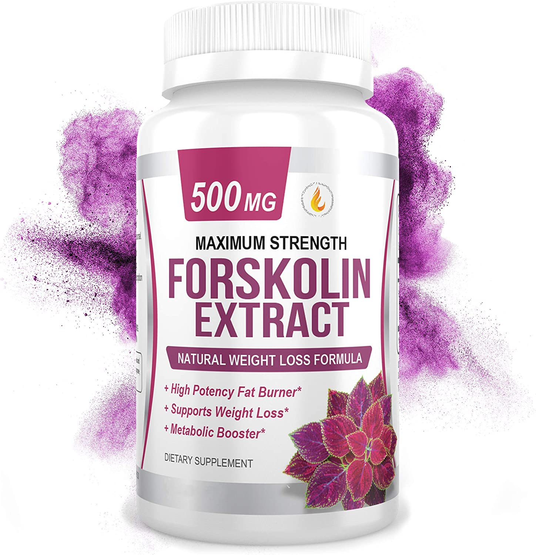 PREMIUM FORSKOLIN EXTRACT 500mg - w Capsules 60 Max 66% OFF Standardiz famous 20%