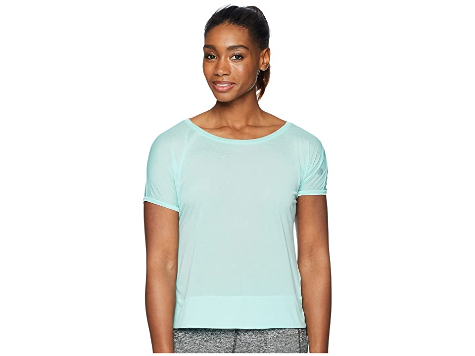 ASICS Legends Crop Top (Opal Green) Women