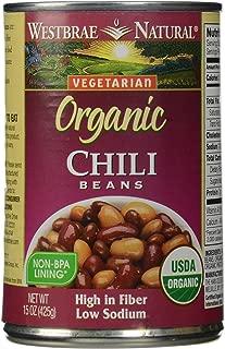 Westbrae Natural, Vegetarian Organic, Chili Beans, 15 oz