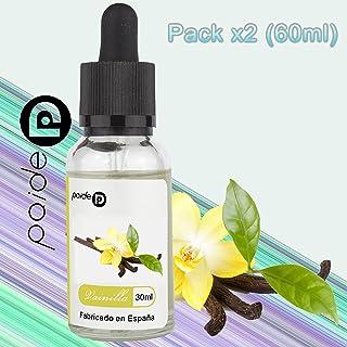 2 x 30ML Paide Premium E-Liquid - Sin nicotina - Líquido para cigarrillo electrónico