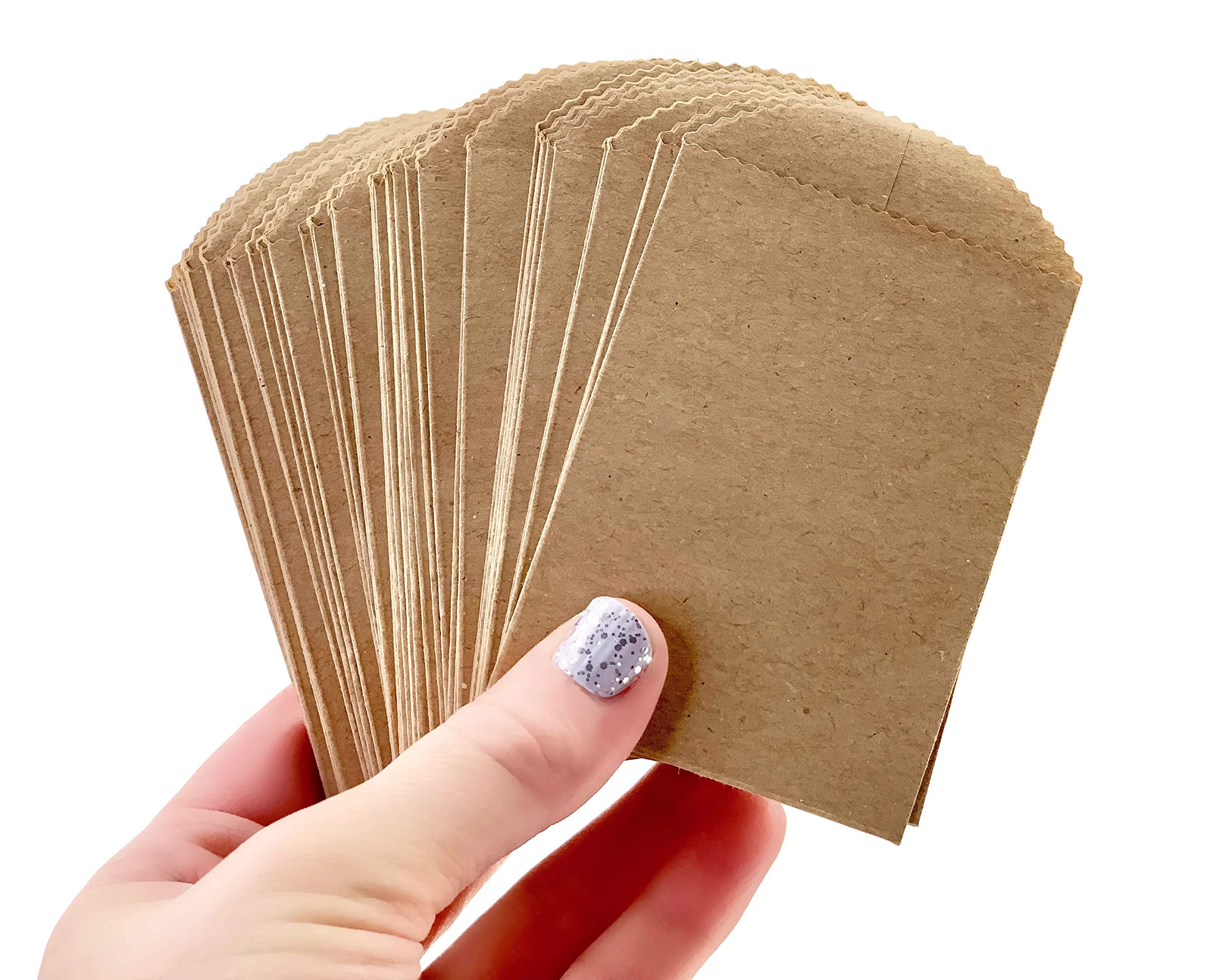 mini brown paper bag favour
