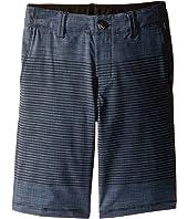 Vans Kids - Gaviota Stripe Hybrid Shorts (Little Kids/Big Kids)