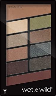 Wet 'n Wild Color ComFort Zone Icon 10 Pan Palette, Multi-Color, 8.5g