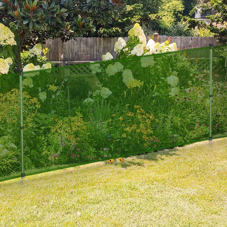 数量限定 EK Outdoor Fence Screen for Chicken 送料無料 一部地域を除く Backyard Veggie Yard Garden