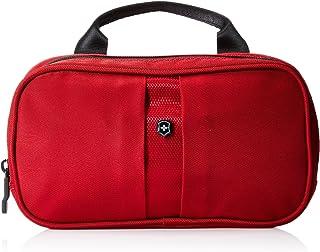 Victorinox Overnight Essentials Toiletry Kit, Red/Black Logo (red) - 311731