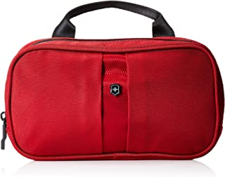Victorinox Overnight Essentials Toiletry Kit, Red/Black Logo (red) - 311731