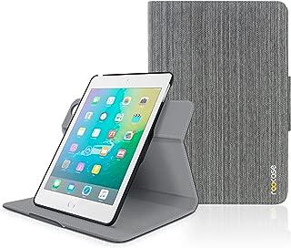 iPad Mini 3 Case, roocase Orb Folio iPad Mini Leather Case Smart Cover with Sleep/Wake Feature for Apple iPad Mini 3 2 1, Canvas Gray - Patented Complete Lifestyle Solution
