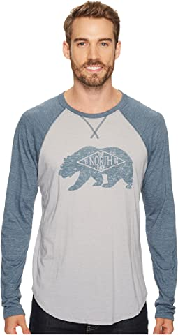 The North Face - Long Sleeve Bearitage Baseball Tee